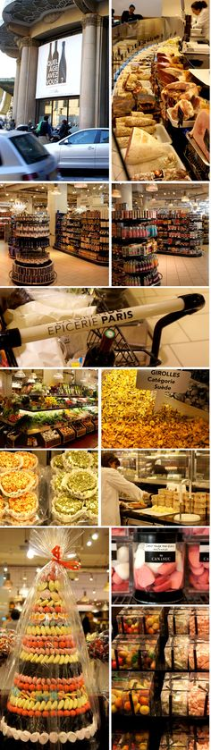 I'd love to go to Le Grande Epicerie in Le Bon Marche (among other places) in Paris, France