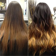 #ombre hair #before and after #long hair @Bloom.com by beauty pro Staiy T