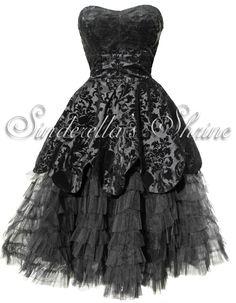 Hell Bunny Black Victorian Lavintage Steampunk Gothic Dress 6 20 | eBay