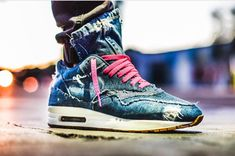 Behind The Scenes By theshoesurgeon Air Max Sneakers, Sneakers Nike, Homeless Man, Lightning Strikes, Blue Butterfly, Custom Sneakers, Men Looks, Vintage Denim, Behind The Scenes