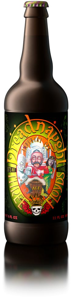 An Imperial India Pale Ale with an intense citrus hop aroma, a huge malt body and a crisp finish.