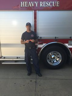 """We gave a California firefighter a #resqme to try and within 2 hours he was prompted to use it on the job!  His feedback: """"Got to use that little tool on a car window - it does work. I'm impressed.""""  Keep up the good work and many thanks to firefighters everywhere! ~ from the resqme team www.resqme.com"""