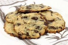 De rigtige chocolat chip cookies opskrift fra Alletiders Kogebog blandt over 38.000 forskellige opskrifter på