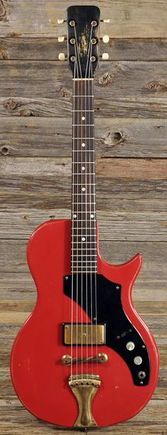 SUPRO Model 1507 Red 1959 (s189) | Chicago Music Exchange