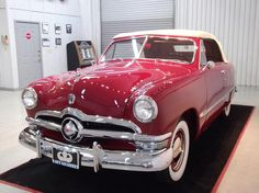 1950 Ford Custom Deluxe Convertible Club Coupe