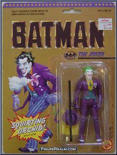Toy Biz DC Comics Batman The Joker Figure 1990...wow...I definitely had this - where's Batman??