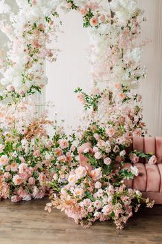 Wedding Stage, Rose Wedding, Floral Wedding, Wedding Bouquets, Wedding Ceremony, Wedding Flowers, Wedding Flower Backdrop, Floral Backdrop, Floral Arch