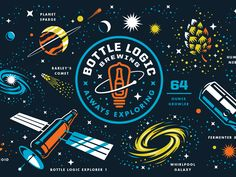 Bottle Logic Brewing commissioned a special edition full-wrap growler for their Week of Logic 2016. Click on the attachment to see the full wrap.