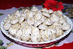 Sněhové pusinky s ořechy a čokoládou – Hančiny Sladkosti.net