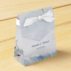 Beach Dune Romance Wedding Favor Box - craft supplies diy custom design supply special