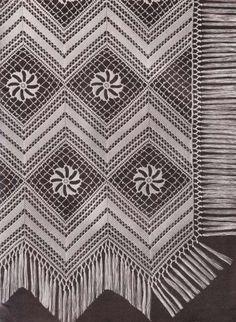 Blocks  and Bands Crochet Bedspread Pattern PDF | hollywoodpatterns - Craft Supplies on ArtFire