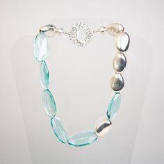 Waterfall Necklace  by Jane Hruska