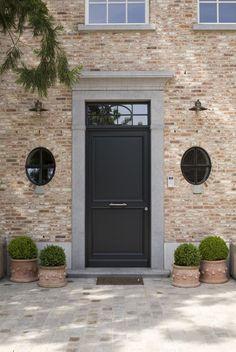 """Search result for """"pavement gris napoleon moellon calcaire"""" - haus - Front Door Porch, Front Door Decor, House Front, Front Doors, Exterior Design, Interior And Exterior, Front Door Colors, Entrance Doors, Door Entry"""