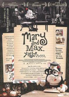 Mary & Max - Uma Amizade Diferente | Filmow