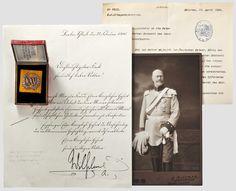 Альфонсо Баварский - Пруссия - Памятный Знак для серебряной годовщины свадьбы