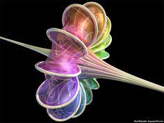 http://fac-web.spsu.edu/math/breathersphere.jpg  Non-Euclidean geometry - go for the curve.