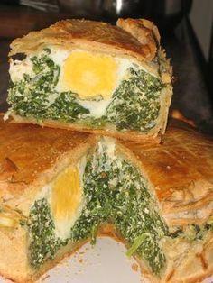 Pascualina de verdura ~ Cocina de verdad