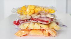 Alimentação de qualidade! Freezer, o melhor amigo dos solteiros saudáveis.