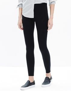 Best selling leggings #leggings #cotton #spandex #activewear #everyday #casual  #shopstylecollective #affiliate #ad Knit Leggings, Black Leggings, Black Knit, Boho Outfits, Cotton Spandex, Everyday Fashion, Madewell, Active Wear, Black Jeans