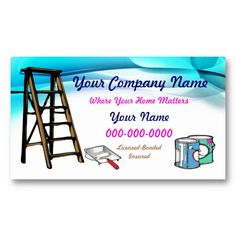 15 Business Cards For Painters Ideas Business Cards Painter Business Card Cards