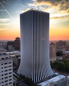 The Metropolitan Formerly known as Chase Tower // Shared by Christopher A. Rochester New York, City Model, Great Lakes, Ontario, Skyscraper, Places, Chase Bank, Jpmorgan Chase, Finger Lakes