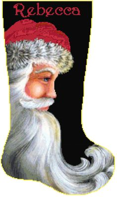 THIS IS A COMPUTER GENERATED PATTERN, THIS IS FOR THE PATTERN ONLY, NOT A KIT.   The Santa 7 with Name Christmas Stocking Cross Stitch Pattern is one of my own personal creations and sure to make anyone very happy! Please enjoy this pattern for your own personal use. You may not sell or distribute copies of this pattern. Please be sure to include your name in the notes section of your order. I will send it out within 24 hours whenever possible. It is important that you include the correct…