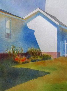 Suzanne Siegel watercolors. Love Love Love Cobalt blue!  always will!