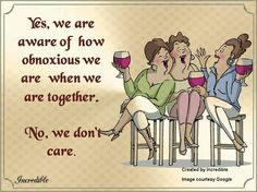Girls getting together...