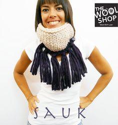 Ravelry: Sauk Cowl pattern by Daniela Pavan