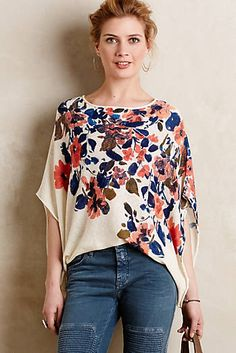 Stitch Fix Stylist: I love the poncho look, but might still be too warm in South Louisiana for them. Something like this would be the perfect compromise for the look AND staying comfy! :)