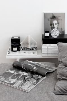 Bedroom still life.
