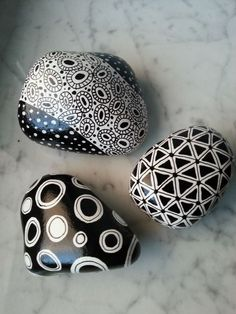 Good Things Come in Threes/Painted Rocks / Sandi...