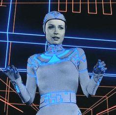 sci-fi girls, TRON ROCKS--ORIGINAL TRON<,ABOUT TIME!