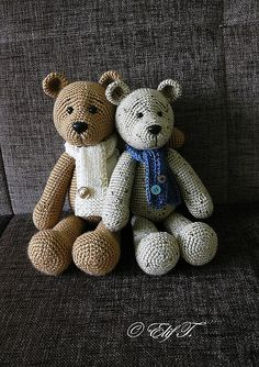 Ravelry: Teddy Bear pattern by Elif T.