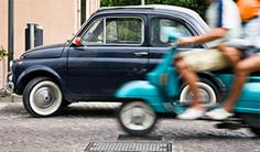 Rome on Demand offers many tours, including some by vintage Fiat or Vespa. See http://www.romeondemand.it and https://www.facebook.com/ROMEondemand?fref=pb. Photo courtesy of Rome on Demand.
