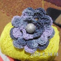 Crochet Brooch (Bross Rajut) HANDMADE