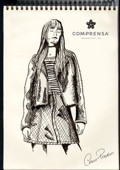 Our proposal for Fall/Winter, by Com-Prensa.  #manufacturer #barcelos #colours #tshirt #cotton #comprensa #fashion #model #fashion #design #company #textile #portugal #sublimation #screenprinting #digitalprint #laser #photoprint