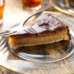 Ground almonds, almond flour and coconut sugar combine in this healthy, gluten-free cake recipe. Don't skip the dry sherry syrup! It gives this cake a complex, fruity flavor that results in an extra-moist cake. Serve with afternoon tea, brunch or as a special dessert. #mothersdayrecipes #mothersdayideas #mothersdaybrunch #mothersdaybreakfast #mothersdaydinner #recipe #eatingwell #healthy