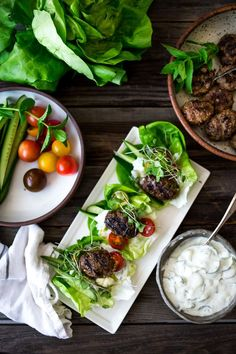 Grilled lamb kofta wraps are light and delicious, and bursting with middle eastern flavor! Healthy Grilling Recipes, Vegetarian Recipes, Quick Family Meals, Beef Kabobs, Grilled Lamb, Best Dinner Recipes, Lamb Recipes, Appetisers, Food Dishes