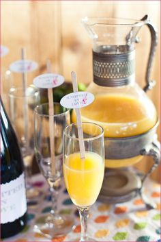 Wedding Shower: Bridal Shower Themes.  Bubbles & Bliss/Love is Sweet theme.