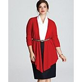 C by Bloomingdale's Plus Cashmere New Basic Duster