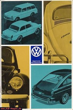 VW - 1967 - Approved Accessories - [5383]-1