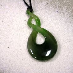 Maori Jade double infinity pendant  (I have this in Lavendar Jade)