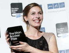 """At Writer Is Youngest to Receive Booker Prize Eleanor Catton on Tuesday in London was awarded the Man Booker Prize for her novel """"The Luminaries."""" By JULIE BOSMAN: October 2013 Darren Wilson, Long Books, Weekend Events, London Today, 28 Years Old, Page Turner, New Names, First Novel, Music Tv"""
