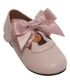 Look what I found on #zulily! Baby Pink Bow Mary Jane #zulilyfinds