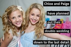 I seriously wish me and my best friend are like Paige and Chloe