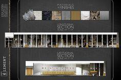interior design finish presentation boards - Google Search