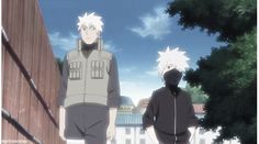 <3 Kakashi & Sakumo Hatake (father; aka Konoha's White Fang)