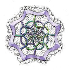 Celtic Zendala by Mariët Dronten