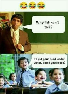 Why fish can't talk? https://www.facebook.com/461057557604005/photos/a.481070835602677.1073741829.461057557604005/510314079345019/?type=3&theater #bluechipentertainment #funny #funnypics #Entertainment #entertainmentweekly #Entertainment_Weekly #fun #funfact #hilarious #fish #fishing #fishingfun